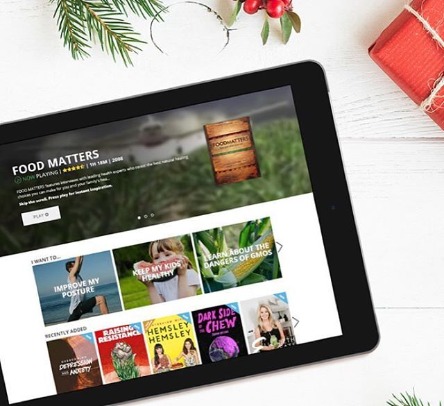 Give the gift of health this Christmas with an FMTV Membership! Change someone's life by sharing with them the expert interviews, educational films, workouts, recipes and more on @fmtv_official!   https://www.fmtv.com/gift #FMTV #foodmatters