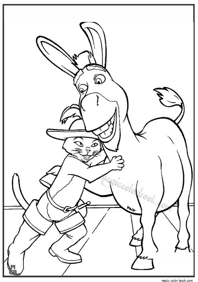 31 besten Shrek Coloring pages free online Bilder auf Pinterest ...