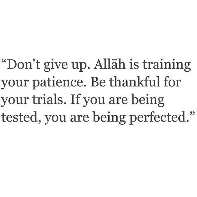 It's so easy to forget this when you're going through so much crap in life but don't ever give up on god it'll be your biggest regret. Hope you all have a blessed Jummah