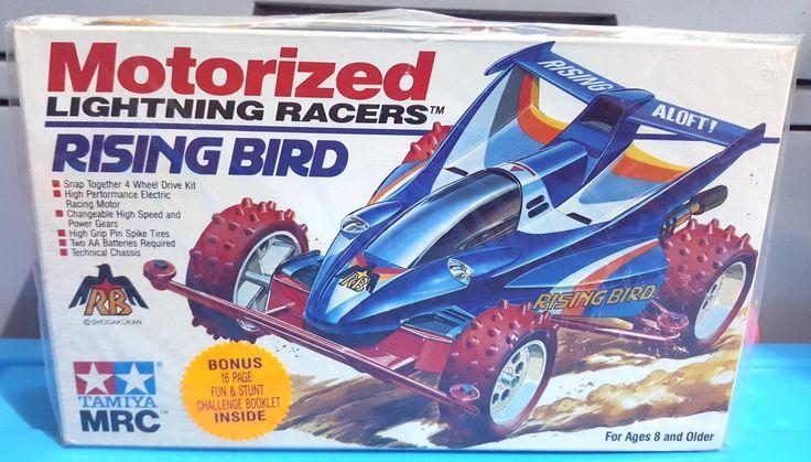 Rising+Bird+Tamiya+Mini+Racing+4+W/D+Scale+1:32+1989+Made+In+Japan