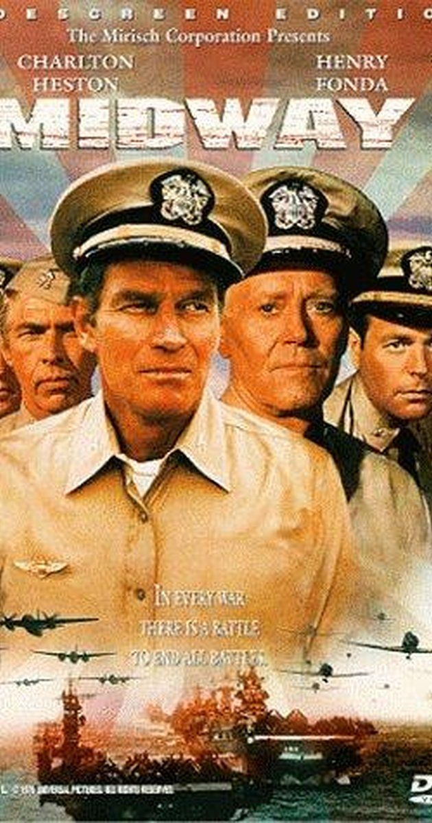 Directed by Jack Smight.  With Charlton Heston, Henry Fonda, James Coburn, Glenn Ford. A dramatization of the battle that was heralded as the turning point of the Pacific Theatre of World War II.