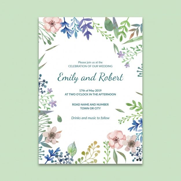 Download Social Media Post Mockup With Wedding Concept For Free Wedding Invitation Posters Wedding Business Card Wedding Invitation Vector