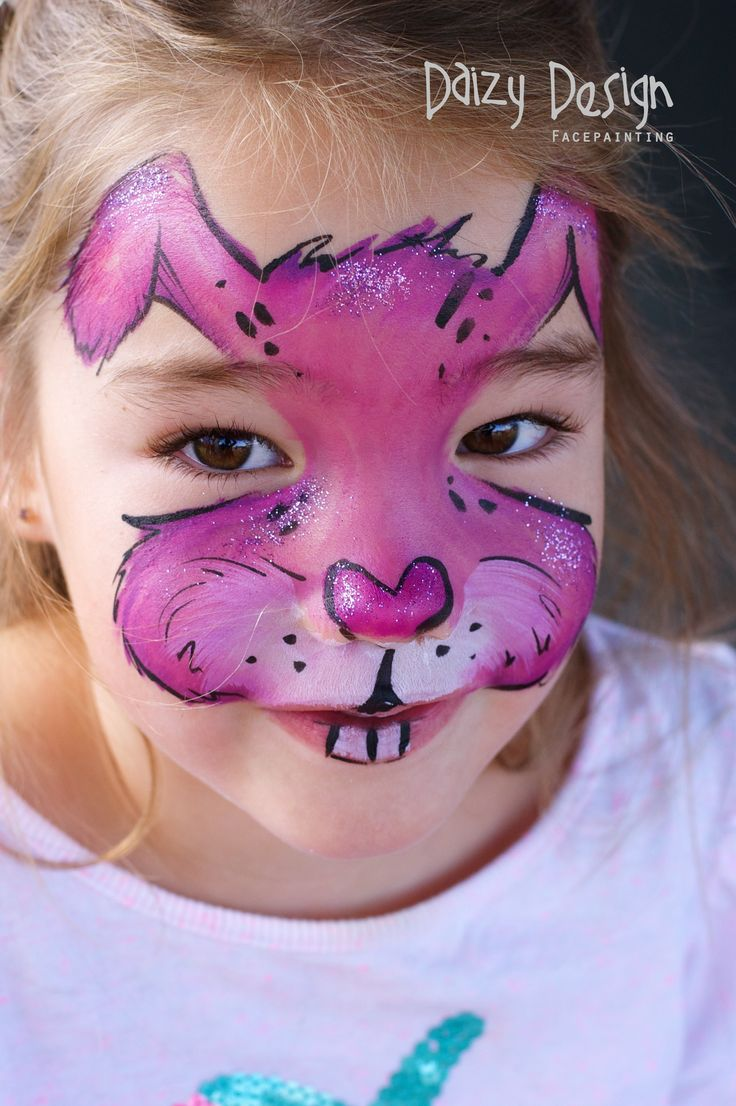 Uncategorized Bunny Face Painting best 25 bunny face paint ideas on pinterest kitty a collection of paintings created by daizy design painting