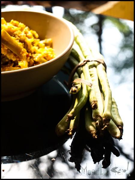 Indian food - Iriel Bhaji sabzi or Yard long beans is a great vitamin rich veggies for your diet www.masalaherb.com