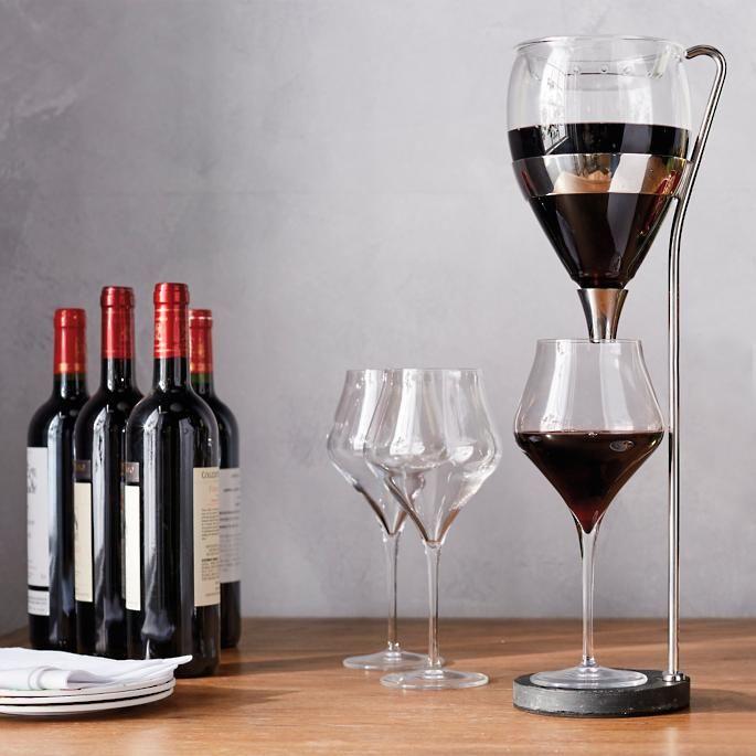 Vagnby S Table Tower Aerating Wine Dispenser Wine Preserver Wine