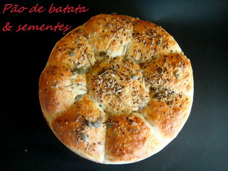 pão de batata & sementes