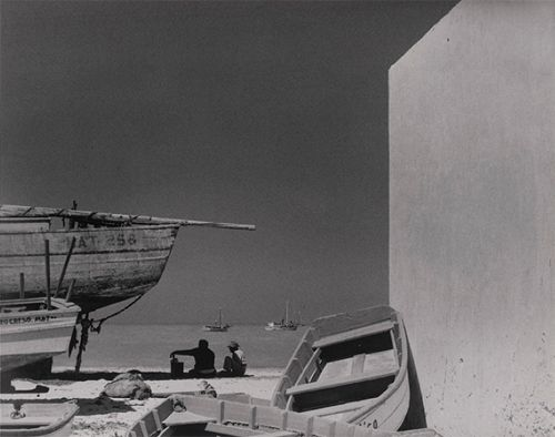 Paul Strand, Boats and Sea, Progreso, Yucatán 1966. Thank you, arsvitaest.
