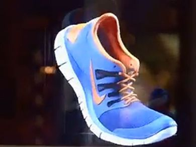 Nike Launched A Holographic 3D Advertising Campaign