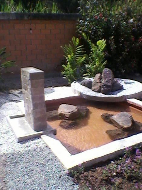 Jardin ze de exterior con fuente jardines zen pinterest for Jardin zen exterior
