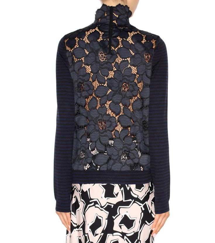 mytheresa.com - The Fresh Factor silk and cashmere-blend sweater - Knitwear - Clothing - Luxury Fashion for Women / Designer clothing, shoes, bags