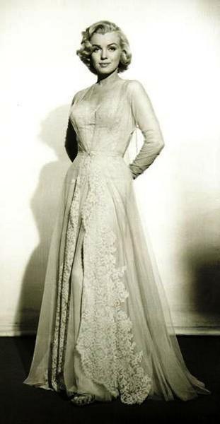 Marilyn Monroe, this dress <3