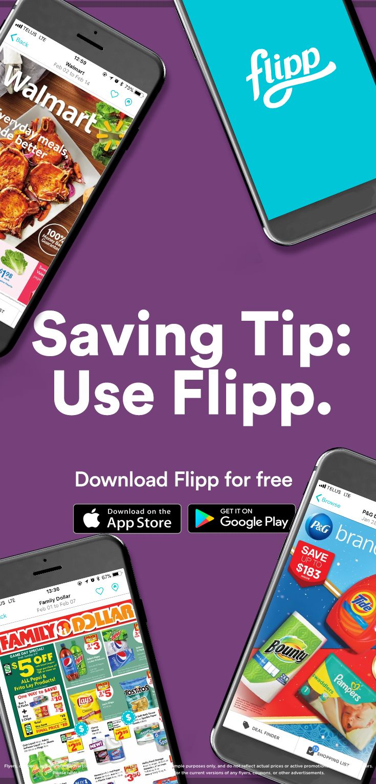 No one wants to miss a good deal. Download Flipp for weekly ads, coupons, and explore more saving tips.