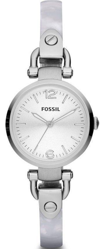 Fossil Watches, Women's Georgia Mini Three Hand Stainless Steel Watch #ES3296