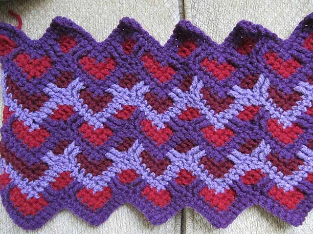 17 best Sweetheart Ripple Afghan images on Pinterest | Crochet ...