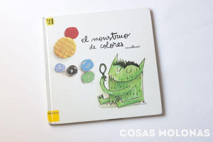 El monstruo de colores, de Anna Llenas (reseña). Hasta 6 años.