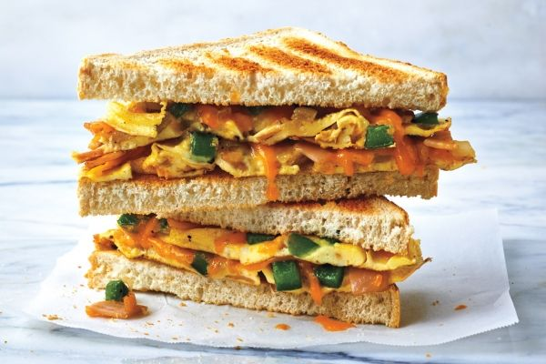 Classic Toasted Western Sandwiches - This diner classic is ideal for those nights when you don't know what to eat and don't really feel like cooking. It cooks in minutes and is incredibly versatile—the sky's the limit when it comes to the fillings you can add to this sandwich recipe.