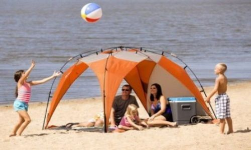 Sun-Protection-Parasol-Summer-Tent-Outdoor-Beach-Garden-Kids-Children-Family