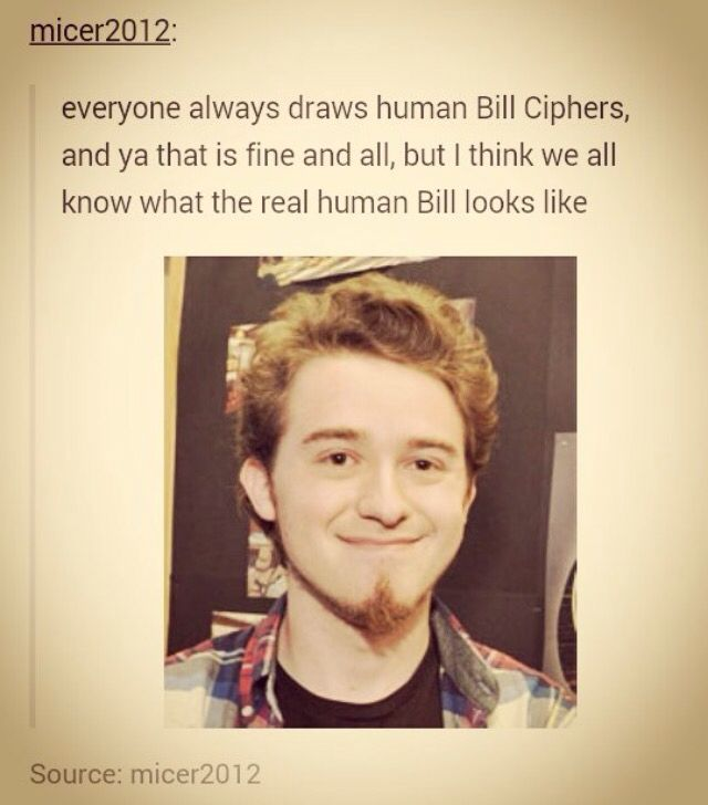 lol but not true because Bill is Alex's BOSS so that explains why he is an image of human Bill Cipher