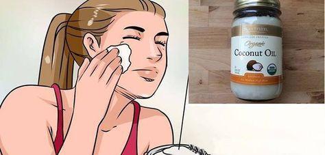 Cum poți scăpa de riduri și de petele de pe față folosind ulei de cocos și bicarbonat