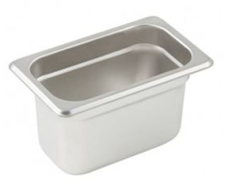 Minox 1-9-100 1/9 Size Gastronorm Pan - Pans Trays - Kitchen & Catering Equipment