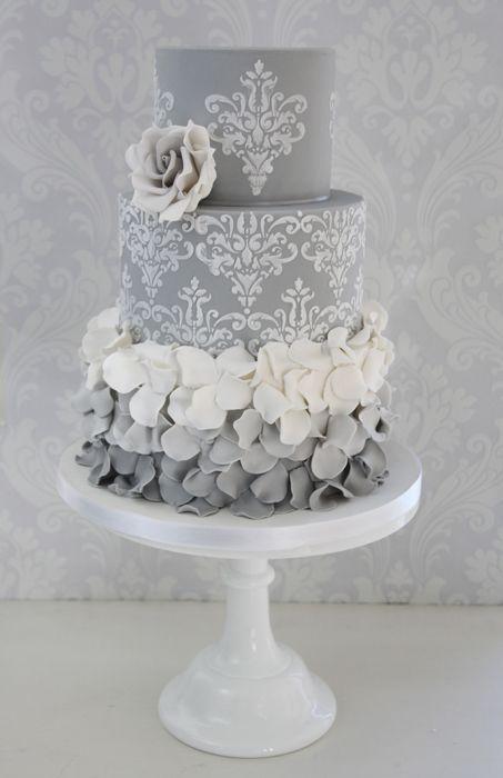blackwhite and grey cakes 46