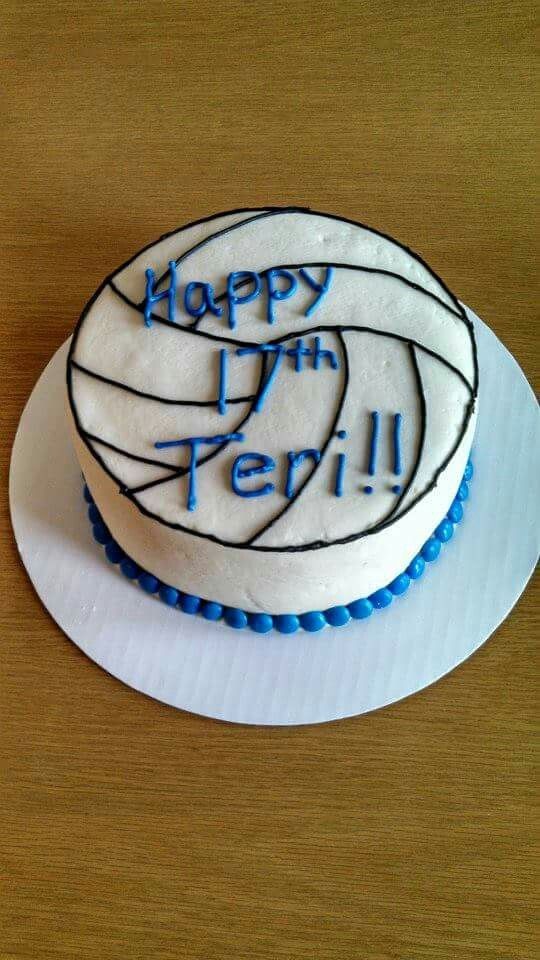 Volleyball Cake Karly S Kakes In 2019 Volleyball Cakes