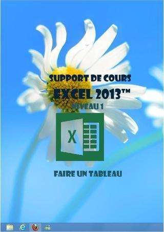 Support de cours : Excel 2013 (Initiation)