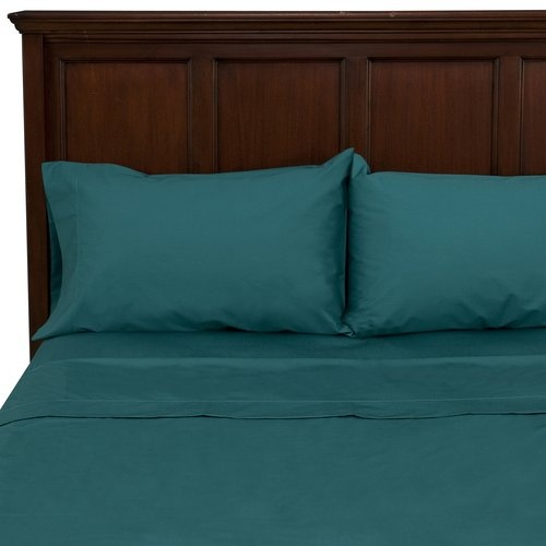 i like this color!: 250Thread Counted, Mainstay 250Thread, Counted Sheet, Buy Mainstay, Sheet Sets, Teal Sheet, Bedrooms Ideas, 250 Thread Counted, Fabulous Colors