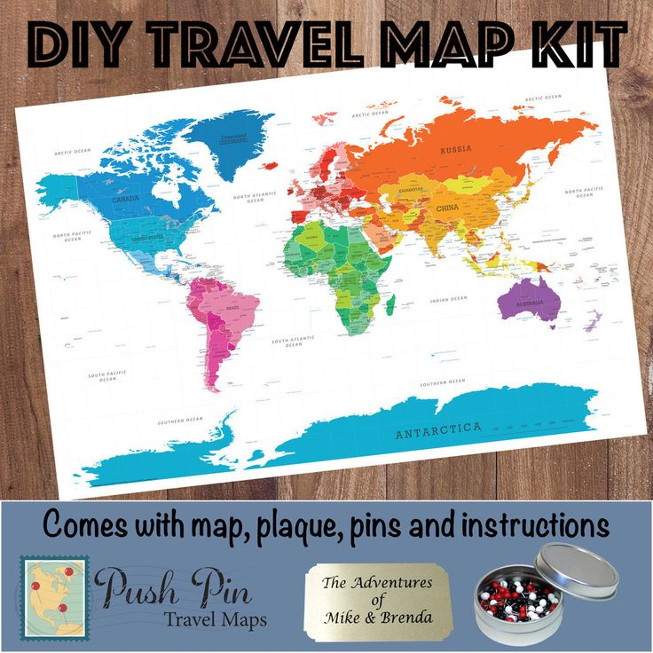1000 images about Our Products Push Pin Travel Maps on – Personalized Travel Maps