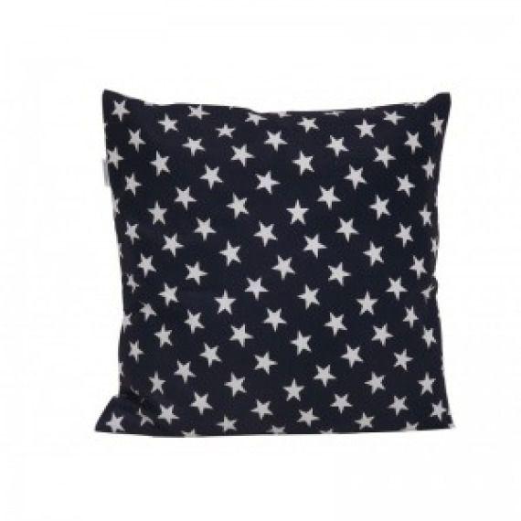 Poszewka na poduszkę białe gwiazdki