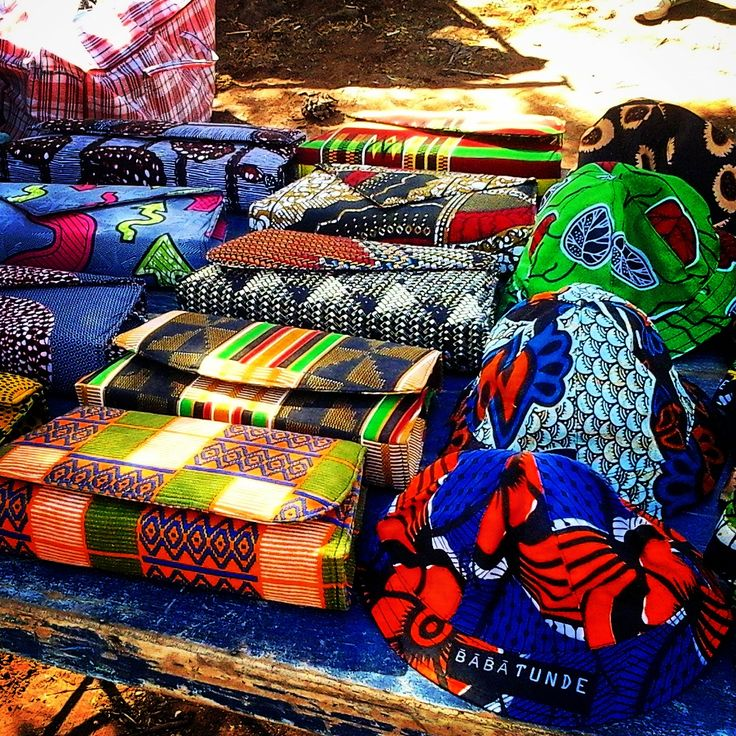 Babatunde Clutch bags ; Kids Hats #AfricanPrint #LocalFashionTrends