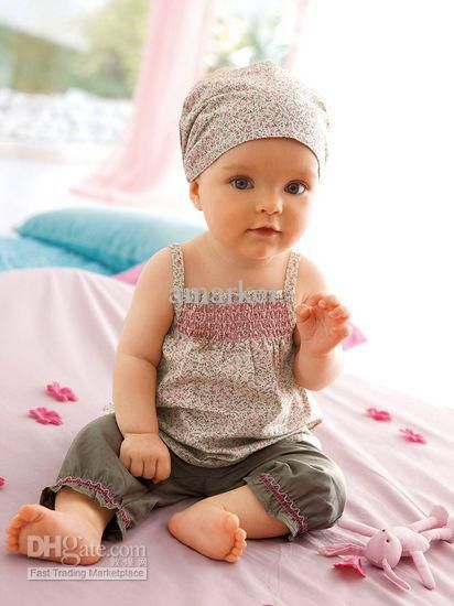 Wholesale Girl Clothes - Buy Cute Baby Girl Clothes Suit 3 Pcs Sets Headband+singlet+pant, $10.48 | DHgate