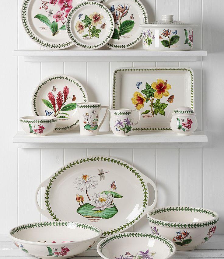 Portmeirion Exotic Botanic Garden Dinnerware |  sc 1 st  Pinterest & 88 best Botanic Garden by Portmeirion images on Pinterest | Dish ...