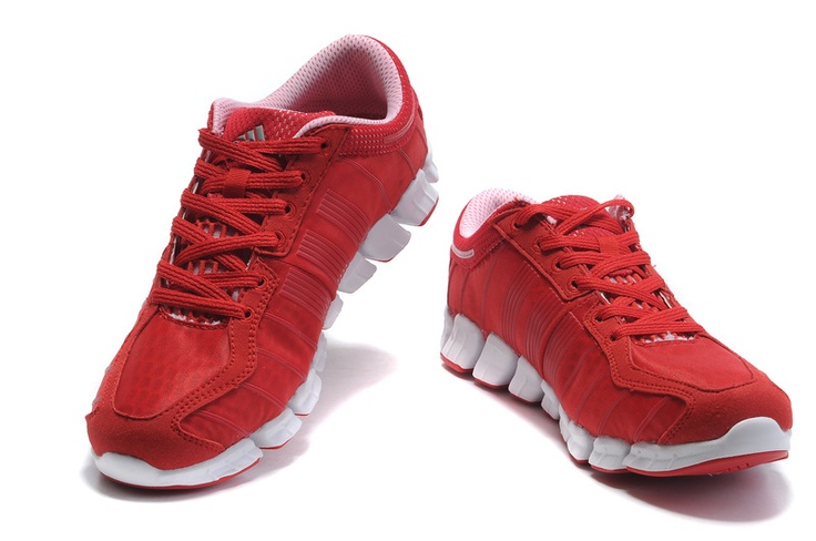 Discount Adidas Climacool Shoes Redwhite Cool