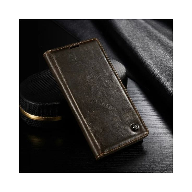CASEME Cover for Sony Xperia Z3+ Cover Bag Oil Wax Wallet Leather Protective Stand Case for Sony Xperia Z3 Plus Case