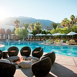 Riviera Palm Springs hotel, Palm Springs, CA: Even after a mod refurb, it still has that Rat Pack glamour.