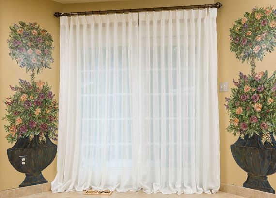 Blue Ombre Window Curtains: 1000+ Ideas About Window Sheers On Pinterest