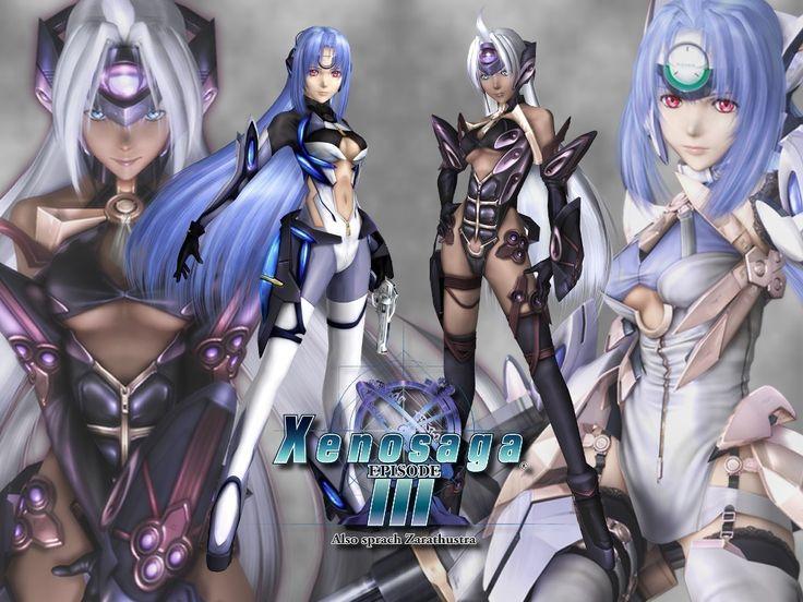 Xenosaga Character Design : Xenogears characters xenosaga