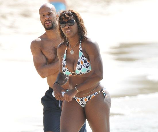 Tennis Star Serena Williams and Common from Hell on Wheels