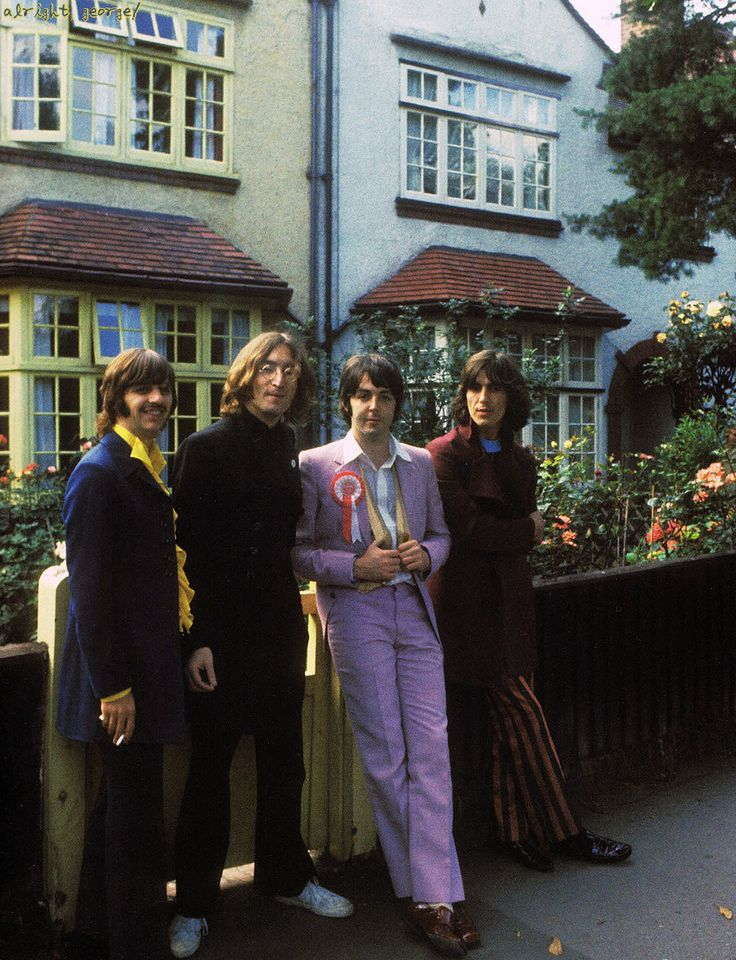 The Beatles - I had a Beatles stickers on my tricycle. That's how long I've been a fan.
