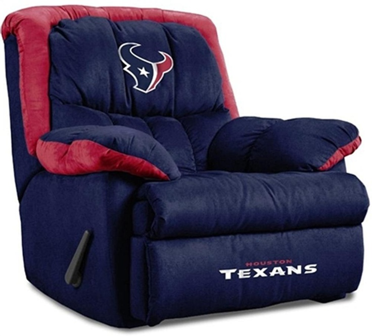 Houston Texans Home Team Recliner..I'm sure the hubby would LOVE this!