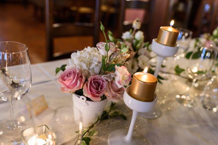 Table set for golden Anniversary