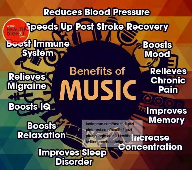 the benefits of music essay Free essay: the benefits of music education due to budget cuts, students all across america are missing an opportunity that could benefit them greatly many.