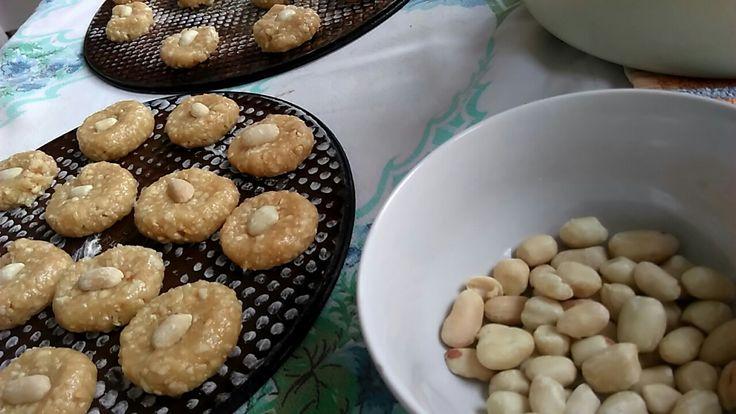 Pinda koekjes