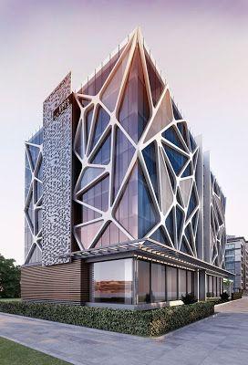 Ciberestética: Los edificios futuristas de Ertugy