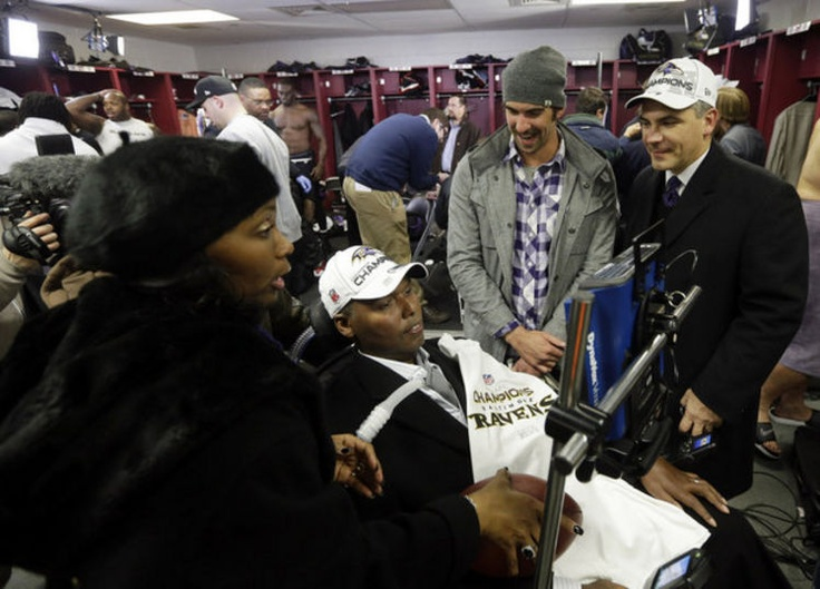 O.J. Brigance has become source of inspiration for Baltimore and the Ravens in their journey to Super Bowl 2013