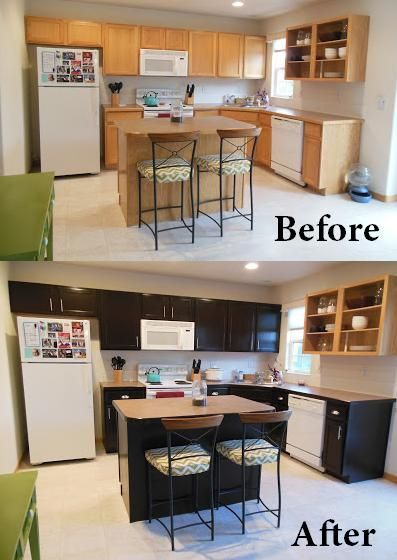 Inexpensive Kitchen Cabinet Upgrade
