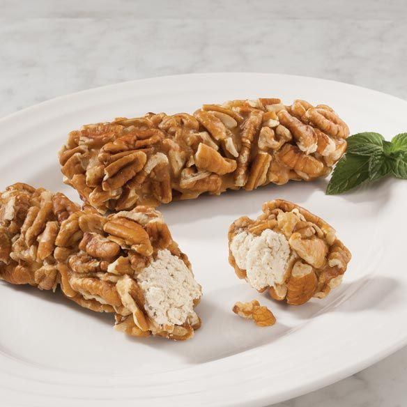 pecan rolls   Penuche Pecan Log Roll - Nuts & Snacks - Candy Shoppe - MilesKimball