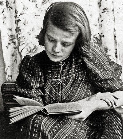 "Sophie Scholl, member of the ""White Rose"", a non-violent resistance group in Nazi Germany."