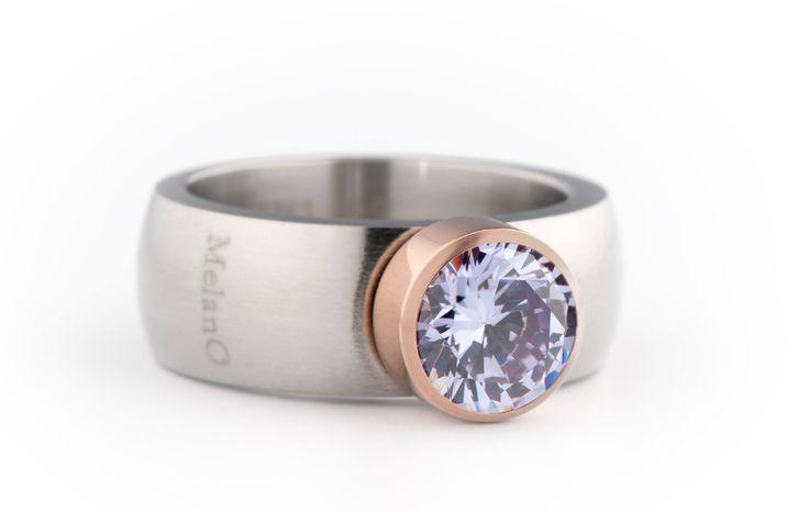 MELANO magnetic stainless steel ring € 17,50 en de zettingen vanaf € 14,95